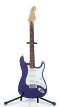 Musical Instruments:Electric Guitars, 1999-2000 Fender Stratocaster Purple Electric Guitar #MN9328437....