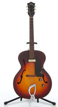 Musical Instruments:Electric Guitars, Circa 1965 Guild X-50 Cherry Burst Archtop Electric Guitar#46446....