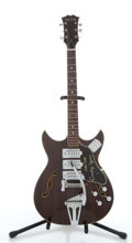 Musical Instruments:Electric Guitars, Vintage Merlin Country Squire Archtop Electric Guitar #N/A....