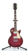Musical Instruments:Electric Guitars, 1996 Epiphone Les Paul Standard Cherry Electric Guitar#U6051740....
