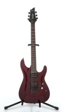 Musical Instruments:Electric Guitars, Schecter Gryphon Cherry Electric Guitar #0414846....