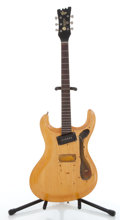 Musical Instruments:Electric Guitars, Late 1960s Moserite The Ventures Model Natural Electric ProjectGuitar, Serial # 2557...