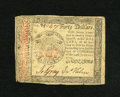 Colonial Notes:Continental Congress Issues, Continental Currency January 14, 1779 $40 Fine-Very Fine. Anapproximate quarter inch bottom tear is spotted....