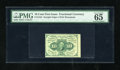 Fractional Currency:First Issue, Fr. 1242 10c First Issue PMG Gem Uncirculated 65EPQ. A bright and fresh example of this first issue type that has deep embos...