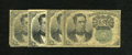 Fractional Currency:Fifth Issue, Fr. 1264 10c Fifth Issue Good. Four Examples. Three VG and one Finenote comprise this lot.. ... (Total: 4 notes)