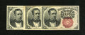 Fractional Currency:Fifth Issue, Fr. 1266 10c Fifth Issue. Three Examples. This trio grades New;About New; and Fine. The last note has foxing and pinhol... (Total:3 notes)