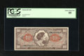 Military Payment Certificates:Series 641, Series 641 $10 PCGS Choice About New 55. This lightly handled notehas wonderful margins....