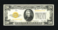 Small Size:Gold Certificates, Fr. 2402 $20 1928 Gold Certificate. Gem Crisp Uncirculated.. Bright paper, dark inks, ample margins, and traces of embossing...