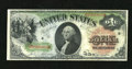 Fr. 18 $1 1869 Legal Tender Very Fine-Extremely Fine. Sound edges, nice colors, and fresh paper decorate this Rainbow Ac...