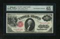 """Fr. 36 $1 1917 Legal Tender PMG Gem Uncirculated 65 EPQ. The """"Exceptional Paper Quality"""" of this Ace shines th..."""