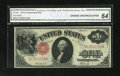 Fr. 37a $1 1917 Legal Tender CGA Choice Uncirculated 64. Fr. 37a is the transposed signature variety where the Burke sig...