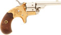 Military & Patriotic:Indian Wars, Factory Engraved Colt M1872 Open Top .22 Caliber Pocket Model Revolver #64991, Matching...