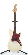Musical Instruments:Electric Guitars, 1964 Fender Musicmaster Olympic White Electric Guitar, Serial #L34172...