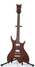 Musical Instruments:Electric Guitars, 1980s Antares B.C. Rich Copy Brown Electric Guitar...