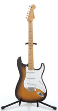 Musical Instruments:Electric Guitars, 1980's Fender Stratocaster Sunburst Electric Guitar ...