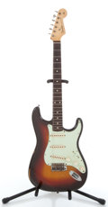 Musical Instruments:Electric Guitars, 1960's Fender Modified Stratocaster Sunburst Electric Guitar#57146....