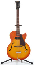 Musical Instruments:Electric Guitars, Circa 1969 Gibson ES-125TC Cherry Burst Archtop Electric Guitar#858696....