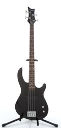 Musical Instruments:Bass Guitars, 2007 Dean Playmate 4-String Black Electric Bass Guitar#O07072360....
