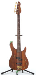 Musical Instruments:Bass Guitars, 1991 Peavey Unity Series Walnut Electric Bass Guitar #05077221....