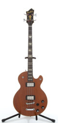 Musical Instruments:Bass Guitars, Vintage Hagstrom 4-String Solid Body Electric Bass Guitar #N/A....
