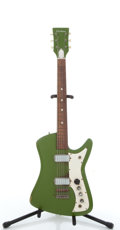 Musical Instruments:Electric Guitars, Vintage Airline Green Guitar #N/A....