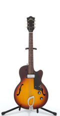 Musical Instruments:Electric Guitars, Vintage Guild M-65 3/4 Sunburst Semi-Hollow Body Electric Guitar#44954....