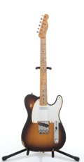 Musical Instruments:Electric Guitars, 2000's Fender Road Worn Telecaster Sunburst Electric Guitar #N/A....