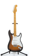 Musical Instruments:Electric Guitars, Fender Stratocaster Sunburst Parts Electric Guitar #61095....