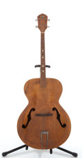 Musical Instruments:Acoustic Guitars, Vintage Kay Tenor Natural Archtop Acoustic Guitar #N/A...