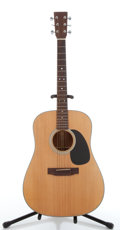 Musical Instruments:Electric Guitars, Unknown Maker D18KIT Natural Jumbo Acoustic Guitar #SN3....