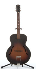 Musical Instruments:Acoustic Guitars, Vintage Gibson Sunburst Archtop Acoustic Guitar #N/A....