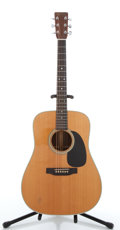 Musical Instruments:Acoustic Guitars, 1988 Martin D28 P Natural Acoustic Guitar #478467....