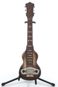 Musical Instruments:Lap Steel Guitars, Vintage Kalamazoo Two-Tone Brown Burst Lap Steel Guitar # N/A. ...