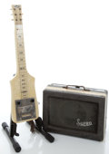 Musical Instruments:Lap Steel Guitars, 1940's Supro Irene Ivory Lap Steel Guitar #N/A...