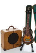 Musical Instruments:Lap Steel Guitars, Vintage Gibson Lap Steel Sunburst Lap Steel Guitar #622-5...