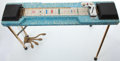 Musical Instruments:Lap Steel Guitars, Vintage Harlin Brothers Blue Steel Multi-Pedal Console #N/A...