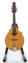 Musical Instruments:Banjos, Mandolins, & Ukes, 1900's Washburn Natural Mandolin Family #1466...