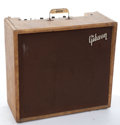 Musical Instruments:Amplifiers, PA, & Effects, Early 1960's Gibson GA-77 Vanguard Brown Amplifier #87539...