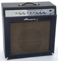 Musical Instruments:Amplifiers, PA, & Effects, Late 1960's Ampeg GS-12-R Reverberocket 2 Black Amplifier#059336...