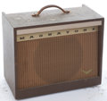Musical Instruments:Amplifiers, PA, & Effects, Late 1950's Magnatone 213 Troubadour Brown Amplifier #N/A...