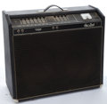 Musical Instruments:Amplifiers, PA, & Effects, 1970's Sho-Bud Twin Tube Black Amplifier #01120...