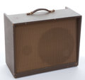 Musical Instruments:Amplifiers, PA, & Effects, 1950's Magnatone 118 Maroon Amplifier #N/A...