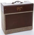 Musical Instruments:Amplifiers, PA, & Effects, Mid 1950's Gibson GA-30 Maroon Amplifier #N/A...
