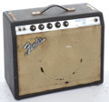 Musical Instruments:Amplifiers, PA, & Effects, Late 1960's Fender Princeton Black Amplifier #N/A...
