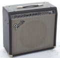 Musical Instruments:Amplifiers, PA, & Effects, Mid 1990's Fender Princeton 112 Black Amplifier #LO-486249...