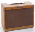 Musical Instruments:Amplifiers, PA, & Effects, 1950's Fender Deluxe 5E3 Blonde Amplifier #N/A...