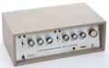 Musical Instruments:Amplifiers, PA, & Effects, Late 1960's Guild ThunderBass Tan Amplifier #4915...