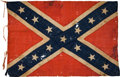 Military & Patriotic:Civil War, Confederate Battleflag Captured at the Battle of Mine Creek, Kansas, October 24, 1864, Accompanied by Fonda Thomsen Analys...