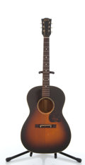Musical Instruments:Acoustic Guitars, 1960's Gibson LG-2 Sunburst Acoustic Guitar #2137....