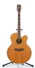 Musical Instruments:Acoustic Guitars, 1995 Washburn Cumberland J-28SC Natural Acoustic Guitar#95040138...